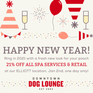 Happy New Year Spa Specials