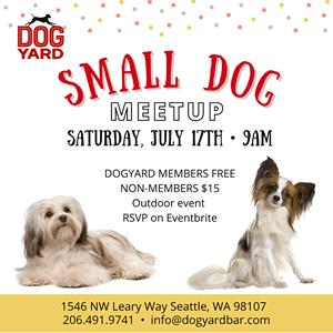 Ballard Small Dog meetup