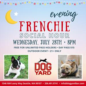 Seattle Frenchie Meetup in Ballard