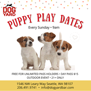 Seattle Puppy Meetup in Ballard
